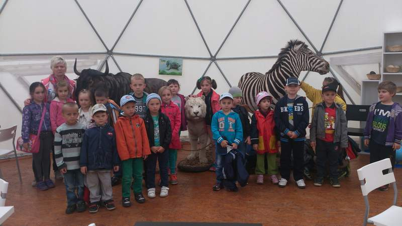 ZOO Safari w Borysewie gr. 0b